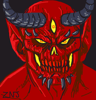 Demon for Draw Something by zachjacobs