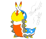 Who's This Fakemon Contest Entry by MyMarshlands