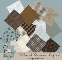 ScrapBook Papers by Punky99