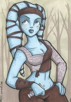 aayla sketch by katiecandraw