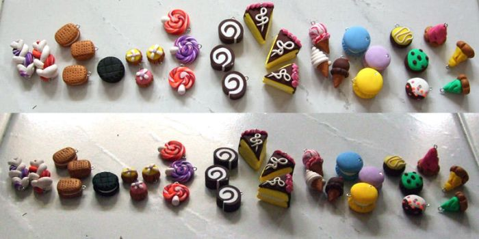 Polymer Clay - Sweet Treats 3 by snowskin