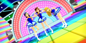 idolm@ster - blue like a sky by dug-chi