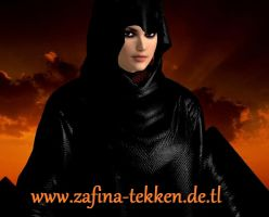 Zafina black cloak by Bahlinka