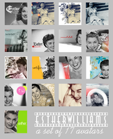 Esther Williams avatar set by onlyalive8