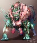 mythical Orient lion by fhxms321