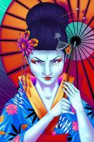 Geisha - Dangerous Women Series by indigowarrior