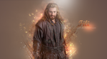 Wallpaper - Fili the Dwarf by Yu-nyah