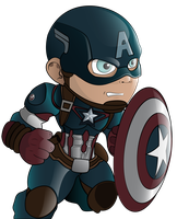 Captain America by HaruInkisitor