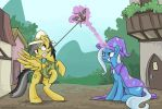 Tug o' War by sophiecabra