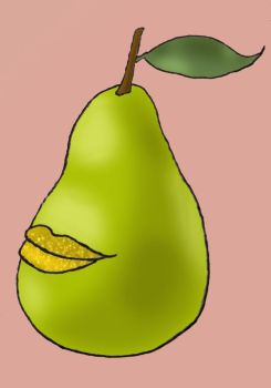 Pretty Pear by moencheese