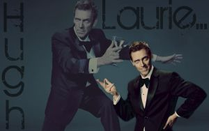 Laurie...Hugh Laurie by LeBonaholic