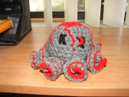 Lava Octo-Zombie by CreationsbyJolie