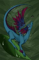 Feathered Dragon by Zilleniose