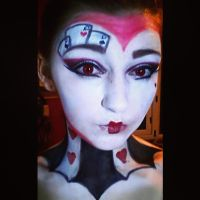 Valentine Special. Queen Of Hearts. by LacehRawrMaee