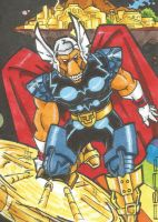 Beta Ray Bill Sketch Card by chicagogeekdad