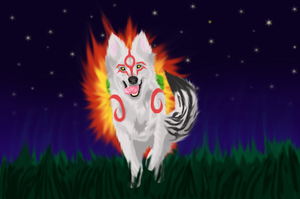 Realistic Amaterasu~ by Saixpuppy222