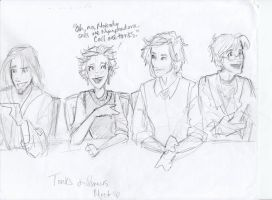 tonks and remus meet by burdge