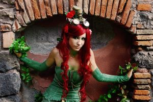 Poison ivy steampunk version cosplay by Daisy-Cos