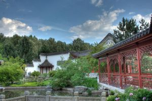 The Chinese Garden 5 by Drezdany-stocks