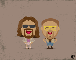 The Big Lebowski by cdup999