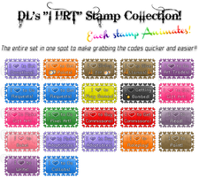 DLs 'I HRT' Stamp Collection! by Drache-Lehre
