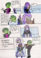 Teen Titans Comic 2 by BlueSerenity