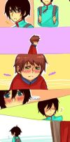 Stolovan Comic: Don't cry by Moeharu