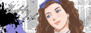 Betty Meyer Banner by Furuha