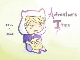 Finn and Jake by BootsOfDespair