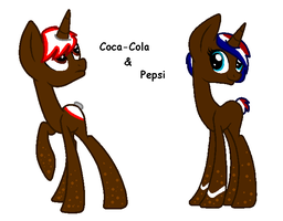 Soda pony's for Star4567980 by FrankinPoodle