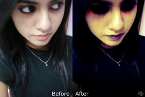 Haunt Me Before and After by darkCARD-Raj