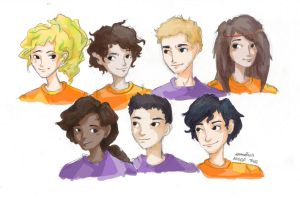 Heroes of Olympus by Dreamsoffools