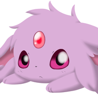 "Baby Espeon ""Redraw"" by AlberioOrion"