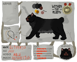 Euthymius WTR APPLICATION by Bloodshadewolves