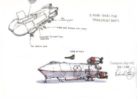 BSG troop transport by onthesquare