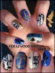 Hollywood Undead nails by Ninails