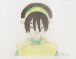 toph drawing by colorfulcutecookie