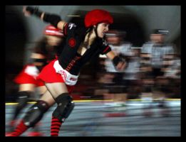 houston roller derby 100.1 by JamesDManley