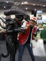 alien cosplay by myistic