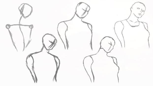 Figure sketches 2 by NUTCASE426