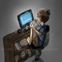 :Doodle: Productivity by Nino-Umaka