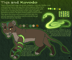 Tiqa + Kuvodo by therougecat
