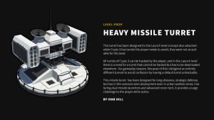 Crysis 3 prop concept - Heavy Missile Turret by ivarhill