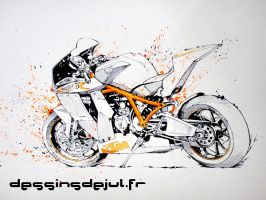 ktm rc8 R by dessinsdejul