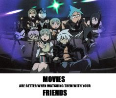 Soul Eater: Movies by ChieriCenterNova
