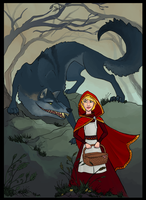 Red Riding Hood by Aazure-Dragon