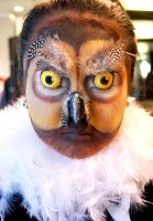 Owl Make-up by artistry-and-imagery