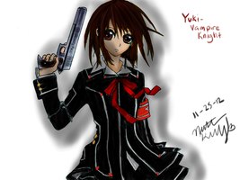 yuki vampire knight :) by mashayshay