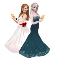 Frozen special drawing for the Oscars 2014 by Hysteria-Ari