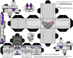 Cubee - Megatron 'TF-Prime' by CyberDrone
